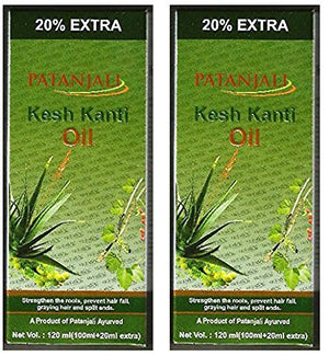 2 x Patanjali Kesh Kanti Hair Oil 100ml (Pack of 2) - wallets for men's at mens wallet