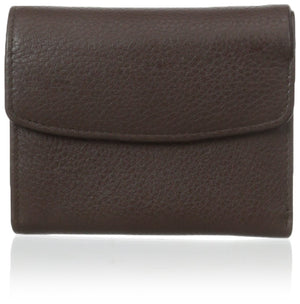 Buxton Womens Mini Trifold Wallet Brown