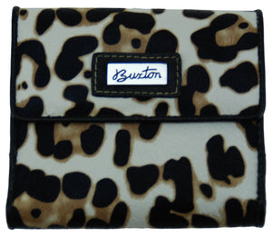 Buxton Leopard Print Ladies Wallet