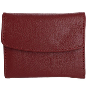 Buxton Hudson Pik-Me-Up Mini-Trifold, dark red