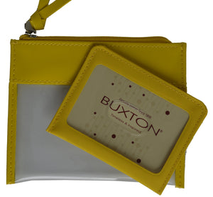 Buxton Ladies Change Purse with Detachable Id Cover - wallets for men's at mens wallet