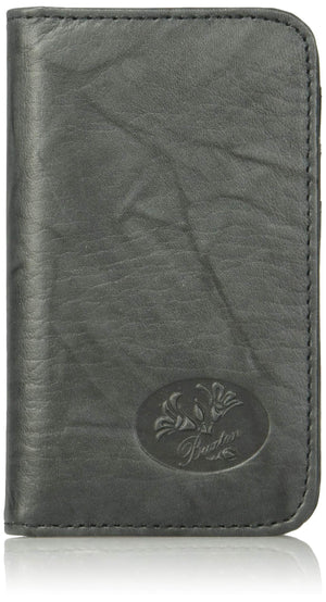 Buxton Heiress Pik-Me-Up Snap Card Case, black