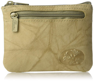 Buxton Heiress Pik-Me-Up I.D. Coin/Card Case, taupe - wallets for men's at mens wallet