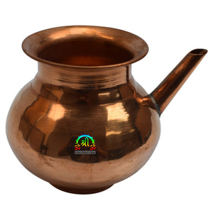 Copper Neti Pot Neti Lota Water Pot Tumbler Water Storage Container Drinking Pot Ayurveda