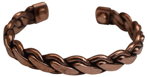 Pure Copper Braided Magnetic Golf Bracelet for Recovery & Injury Relief - wallets for men's at mens wallet