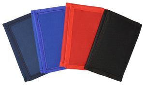 Boys Slim Trifold Kids Nylon Wallet Colors