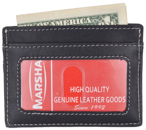 Genuine Leather USA Passport Cover, Holder and Case for International Travel 151 CF USA BLIND (C)