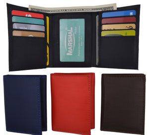 Slim Thin Trifold Boys Credit Card ID Holder Men's Wallet Colors!!! - wallets for men's at mens wallet