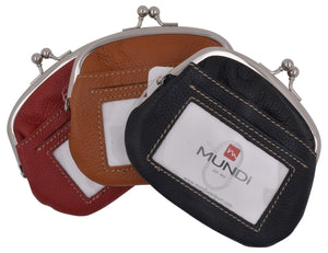 Mundi Coin Change Purse with Front ID Window and Credit Card Slots - wallets for men's at mens wallet