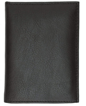 Marshal Clothing, Shoes & Accessories Badge Holder Wallet Genuine Leather Black ID Shield 2518 TA (C)