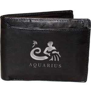 AQUARIUS Jan 21-Feb 19 - wallets for men's at mens wallet