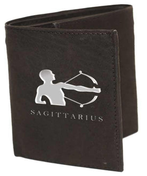 marshal Clothing, Shoes & Accessories BIFOLD / BLACK SAGITTARIUS (Nov 23-Dec 22 )