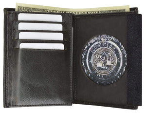Marshal Clothing, Shoes & Accessories Black Badge Wallet 2515TA