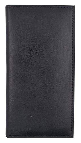 Marshal Clothing, Shoes & Accessories Black Basic PU Leather Checkbook Covers NEW COLORS