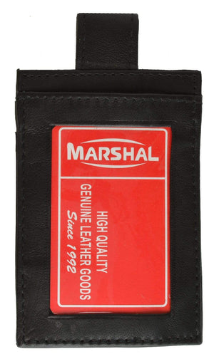 marshal Clothing, Shoes & Accessories Black Belt I.D. Holder
