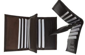 Center Flap Credit Card Holder - wallets for men's at mens wallet