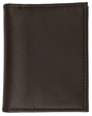 marshal Clothing, Shoes & Accessories BLACK Center Flap Credit Card Holder