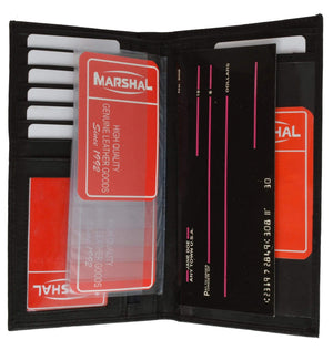 Marshal Clothing, Shoes & Accessories Black Credit Card Holders 853CF