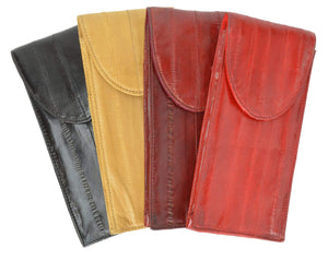 Eel Skin Eye Glass Holder E 508 - wallets for men's at mens wallet