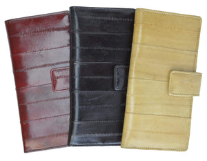 Eel Skin Leather Business Credit Card Holder E 533 - wallets for men's at mens wallet