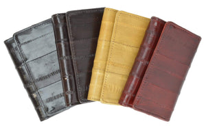 Eel Skin Soft Leather Key Case Wallet E 312 - wallets for men's at mens wallet