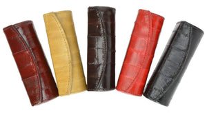 Elegant Design Eelskin Soft Leather Lipstick case E 565 - wallets for men's at mens wallet