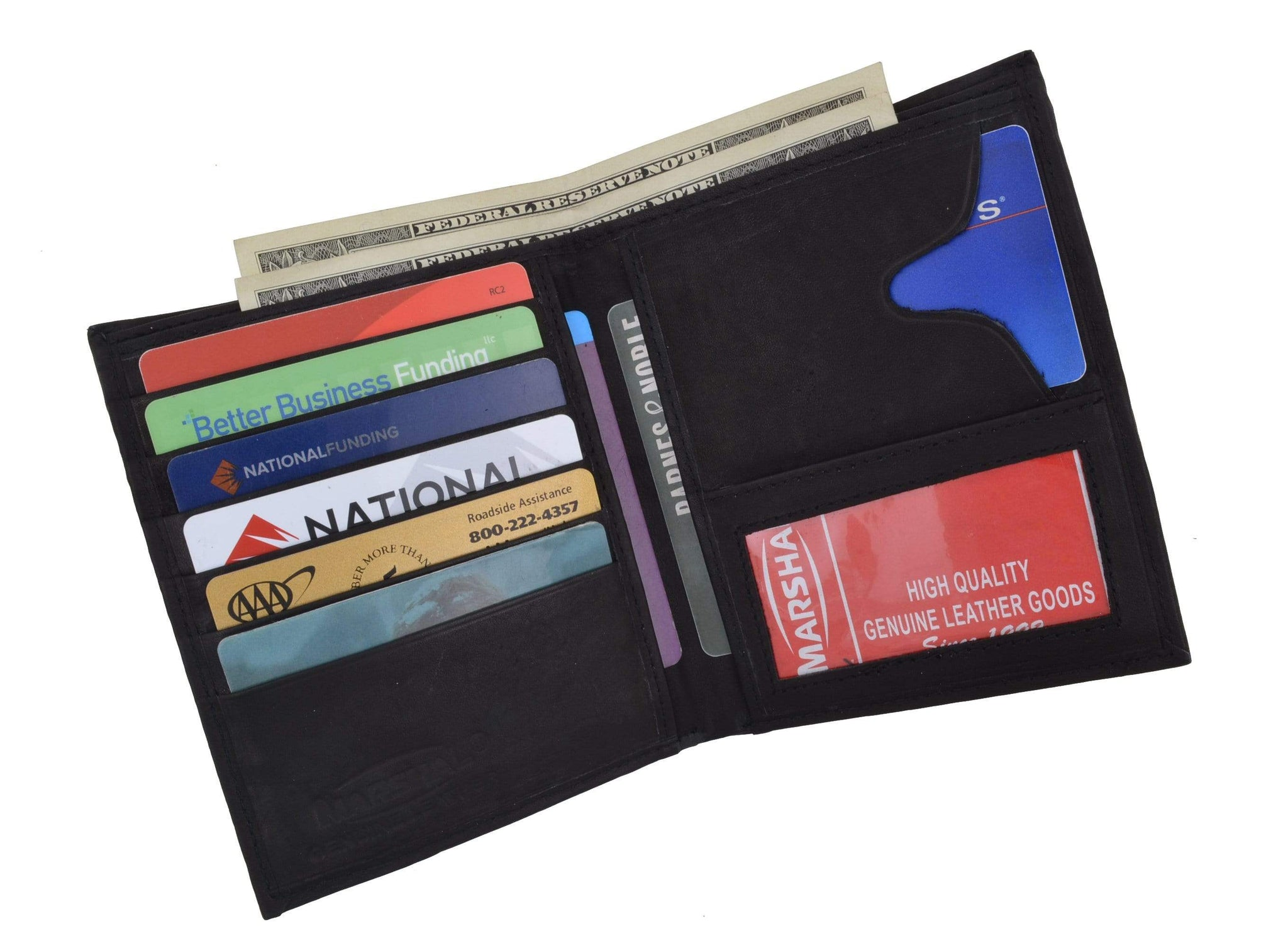 Mens Leather Euro Style Wallet style 502