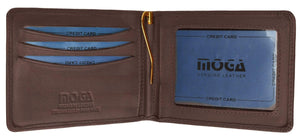 HIGH END Bifold with Money Clip - wallets for men's at mens wallet