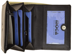 marshal Clothing, Shoes & Accessories Black High-End Ladies' Wallet