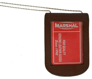 marshal Clothing, Shoes & Accessories Black I.D. and Badge Holder