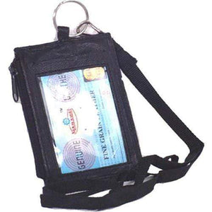 Marshal Clothing, Shoes & Accessories Black ID Holder 761
