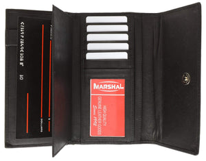 marshal Clothing, Shoes & Accessories BLACK Ladies' wallet