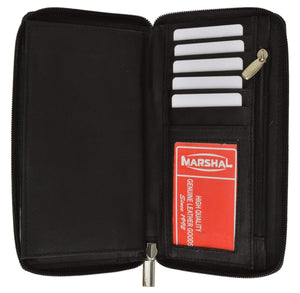 marshal Clothing, Shoes & Accessories Black Ladies' Wallet and Checkbook Cover