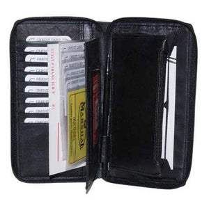 marshal Clothing, Shoes & Accessories Black Ladies Wallet and Organizer