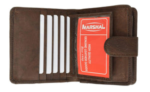 marshal Clothing, Shoes & Accessories Black Ladies' Wallet With Single Zipper