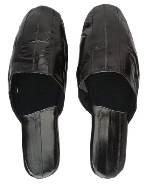 Marshal Clothing, Shoes & Accessories Black / Large Eel Skin Slippers