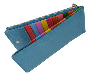 Long Bifold Credit Card Holder 119-3000-02 - wallets for men's at mens wallet