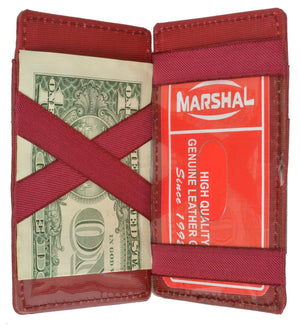marshal Clothing, Shoes & Accessories Black magic wallets (Small)