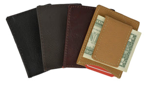 Magnetic Money Clip w/ credit card holder - wallets for men's at mens wallet