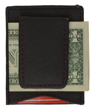 marshal Clothing, Shoes & Accessories Black Magnetic Money Clip w/ credit card holder