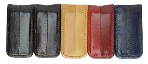 Men's Eel Skin Large Magnetic Money Clip E 334 - wallets for men's at mens wallet