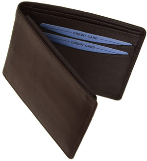 marshal Clothing, Shoes & Accessories Black Men's HIGH END Flip-Up Bifold