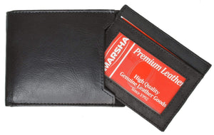 Marshal Clothing, Shoes & Accessories Black Men's premium Leather Quality Wallet 920 534