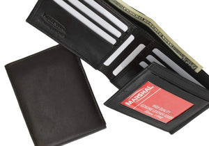 marshal Clothing, Shoes & Accessories Black Men's Wallets - Men's Leather Wallets, Money Clips, Leather Wallet