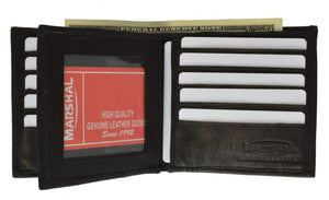 Mens Wallet with 15 Credit Card Slots Genuine Leather 501 - wallets for men's at mens wallet