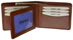 MOGA Bifold With Flap - wallets for men's at mens wallet