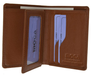 marshal Clothing, Shoes & Accessories Black MOGA Center Flap Credit Card Holder