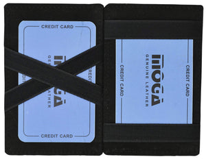 Moga High End Leather Quality Magic Wallet 91420 - wallets for men's at mens wallet