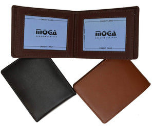 marshal Clothing, Shoes & Accessories Black Moga High End Wallet