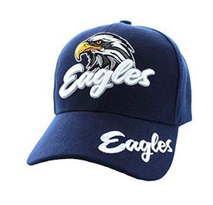Marshal Clothing, Shoes & Accessories Blue Eagles Cap